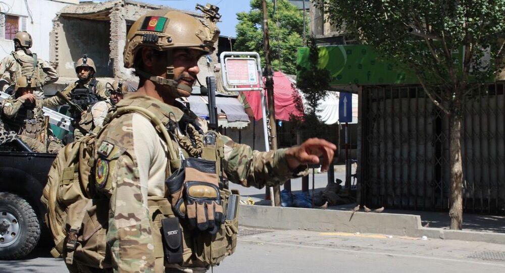 Afgański policjant, Kabul