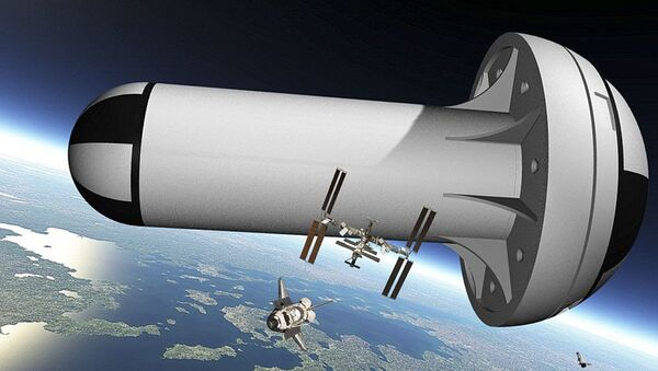 Projekt gigantycznej stacji kosmicznej ze sztuczną grawitacją firmy United Space Structures - Sputnik Polska