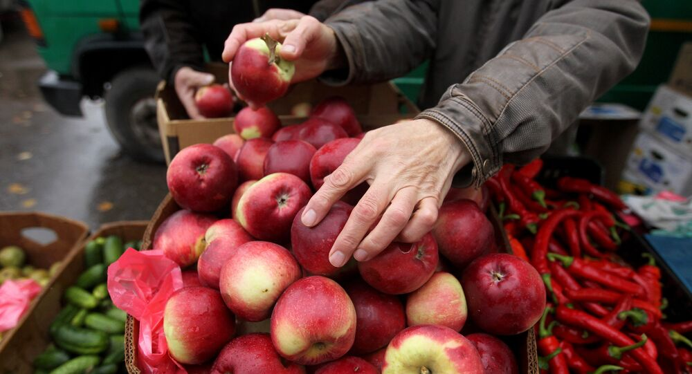 Handel jabłkami