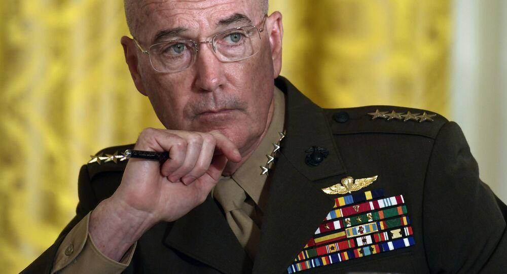 Przewodniczący Kolegium Połączonych Szefów Sztabu Sił Zbrojnych Stanów Zjednoczonych generał Joseph Dunford