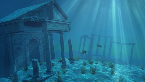 Ruiny starożytnej cywilizacji pod wodą - Sputnik Polska