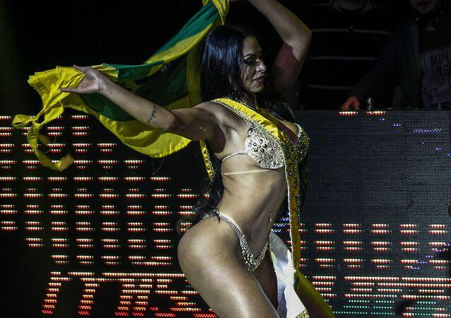 Zwyciężczyni konkursu Miss BumBum 2018 w Brazylii