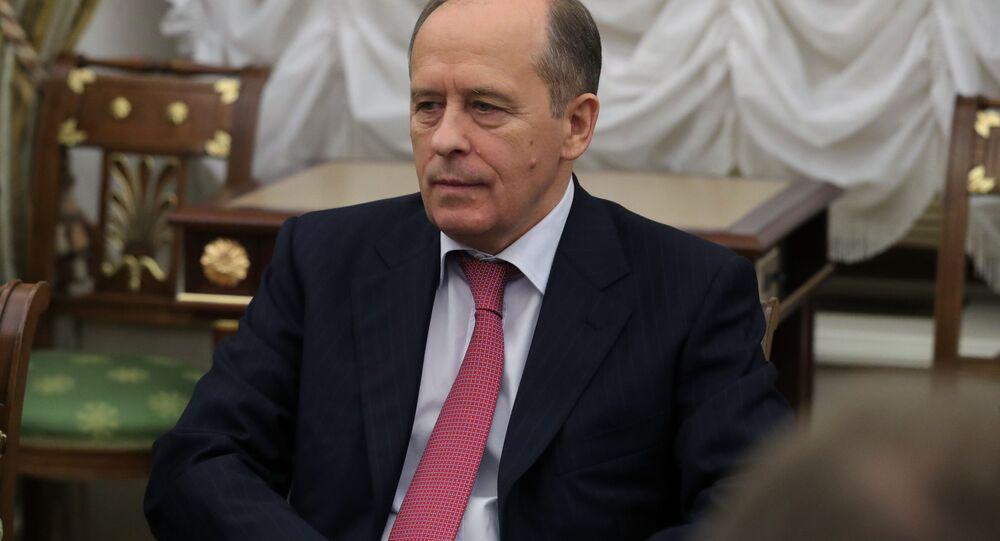 Dyrektor FSB Aleksander Bortnikow