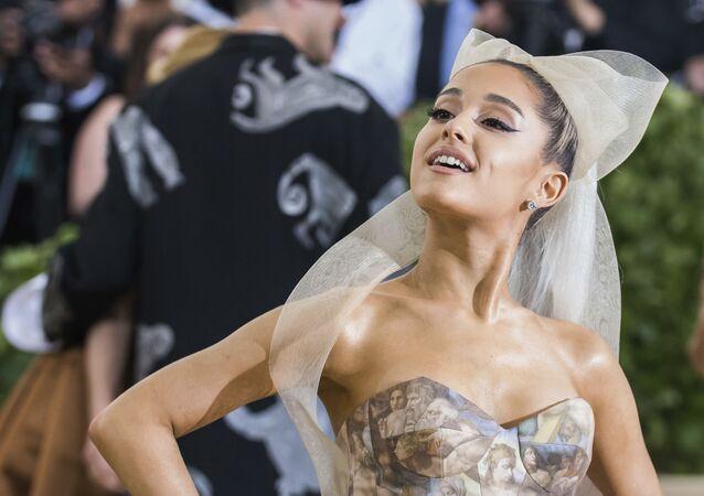 Wokalistka Ariana Grande