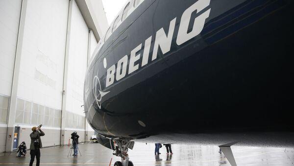 Pierwszy samolot Boeing 737 MAX 9 w fabryce Boeinga w Renton w USA - Sputnik Polska