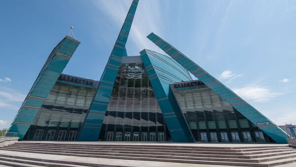 Kazachska Filharmonia Narodowa w Astanie - Sputnik Polska