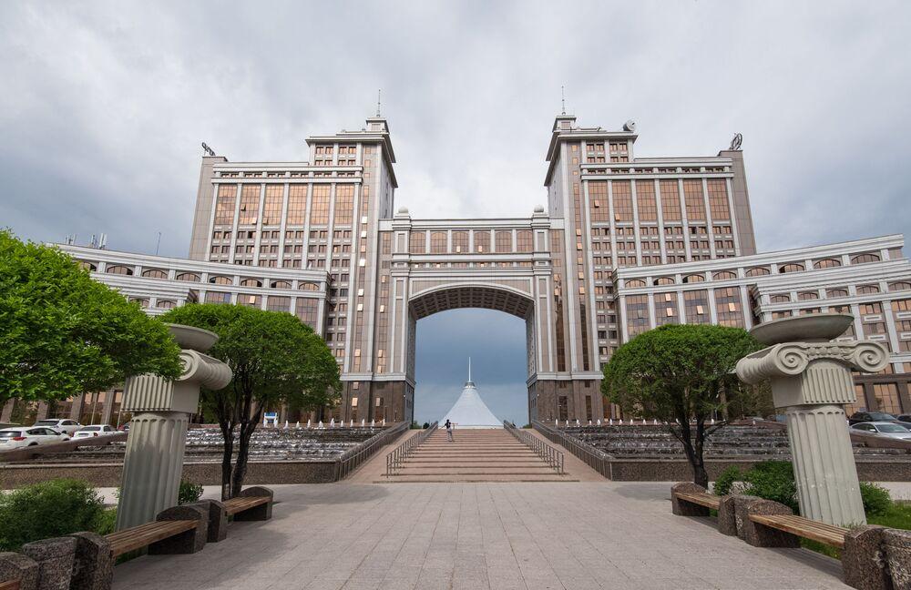 KazMunayGaz spółka naftowa Kazachstanu w Astanie