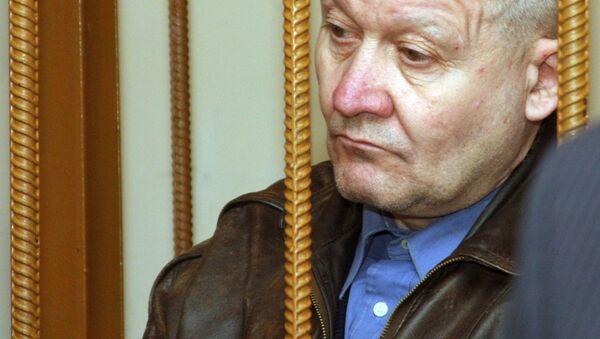 Seryjny morderca Siergiej Tkacz na sali sądowej w Dnieprze, rok 2008 - Sputnik Polska