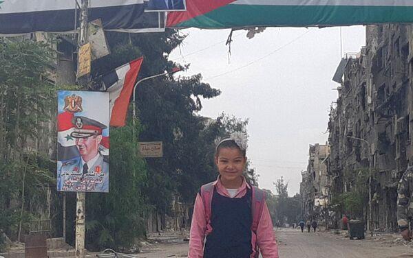 Syryjczycy i Palestyńczycy odbudowują Damaszek - Sputnik Polska