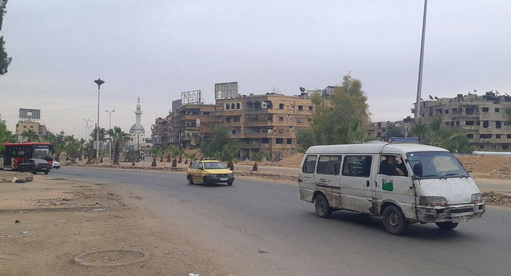 Syryjczycy i Palestyńczycy odbudowują Damaszek