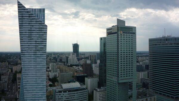 Drapacze chmur w centrum Warszawy, Polska - Sputnik Polska