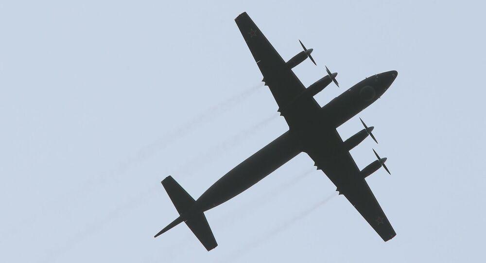 Samolot Ił-38N
