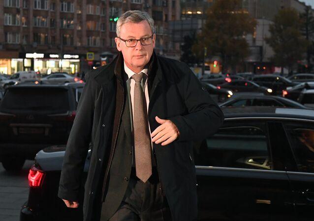 Ambasador Austrii w Moskwie Johannes Eigner