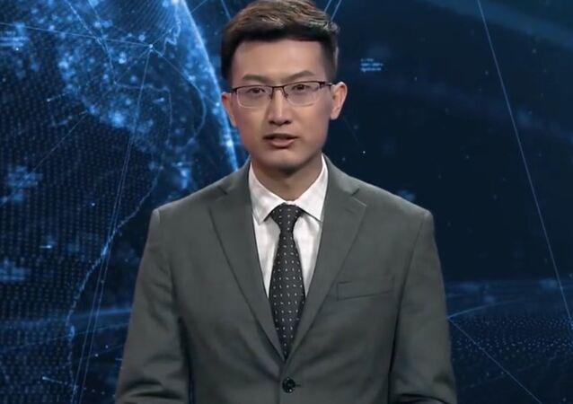 Robot prezenter
