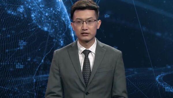 Robot prezenter - Sputnik Polska