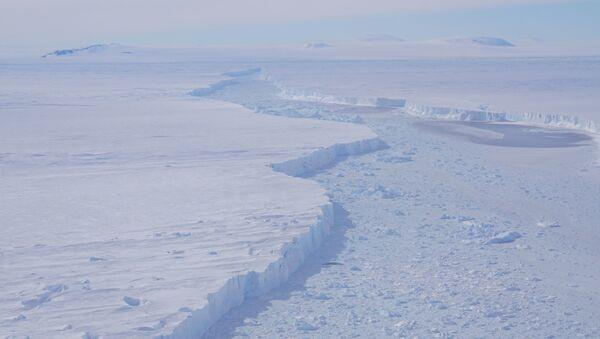 Specjaliści NASA odkryli na Antarktydzie gigantyczną górę lodową, trzy razy większą niż Manhattan - Sputnik Polska