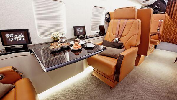Самолет бизнес-класса - Sputnik Polska