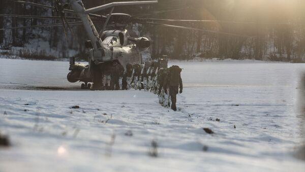 Manewry NATO Trident Juncture w Norwegii - Sputnik Polska