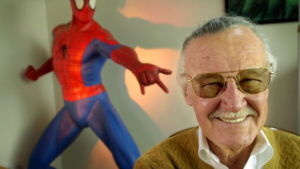 Stan Lee, twórca komiksów Marvela - Sputnik Polska