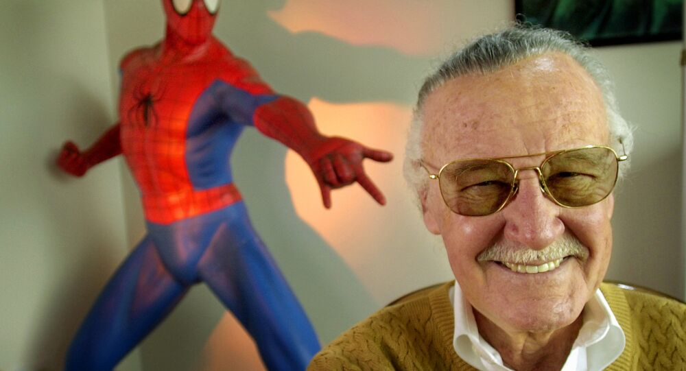 Stan Lee, twórca komiksów Marvela