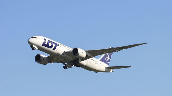 Samolot Dreamliner polskich linii lotniczych LOT - Sputnik Polska