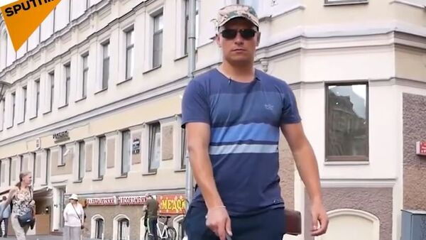 Osoba niewidoma - Sputnik Polska
