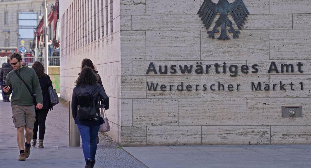 Budynek Ministerstwa Spraw Zagranicznych Niemiec w Berlinie