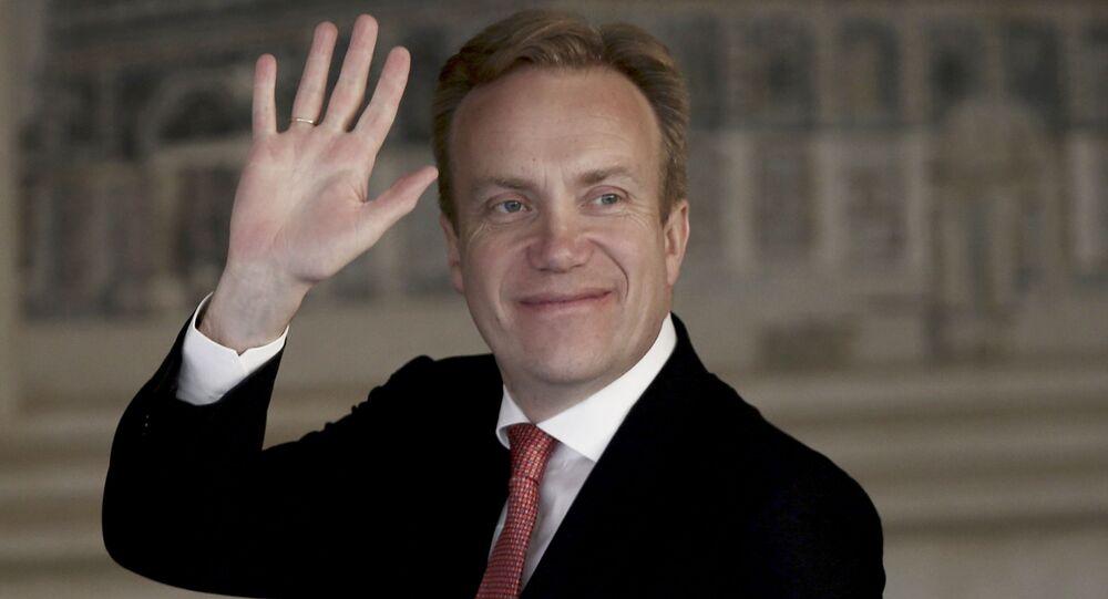 Minister spraw zagranicznych Norwegii Børge Brende