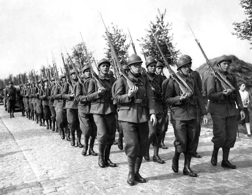Polscy żołnierze podczas II Wojny Światowej