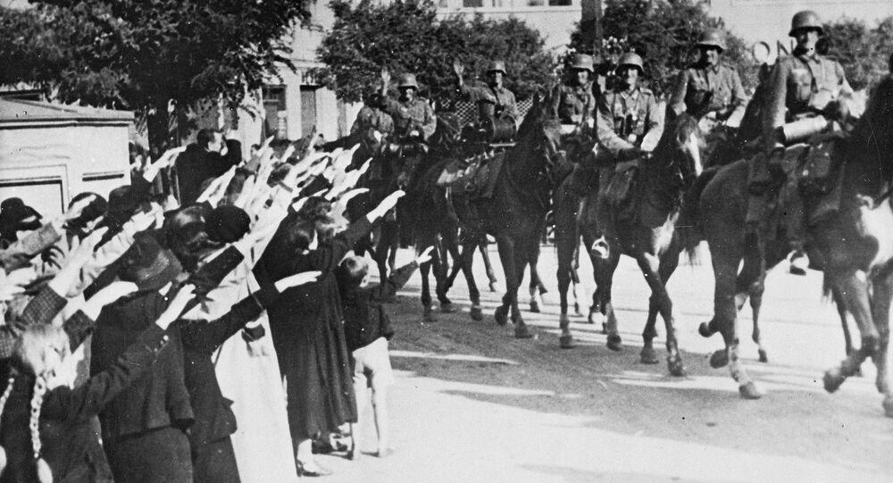 Mieszkańcy Łodzi witają faszystów