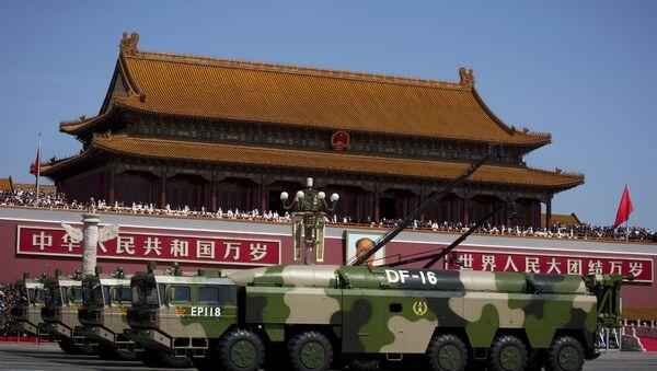 Systemy balistyczne Chin, Pekin - Sputnik Polska
