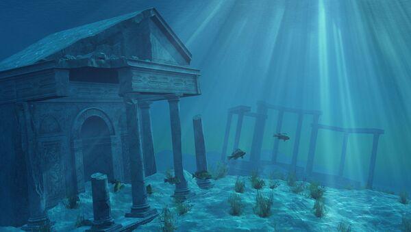 Starożytne ruiny pod wodą - Sputnik Polska