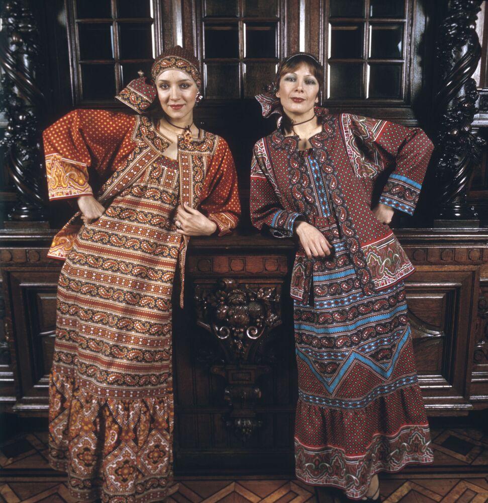Radzieckie modelki, 1977 rok
