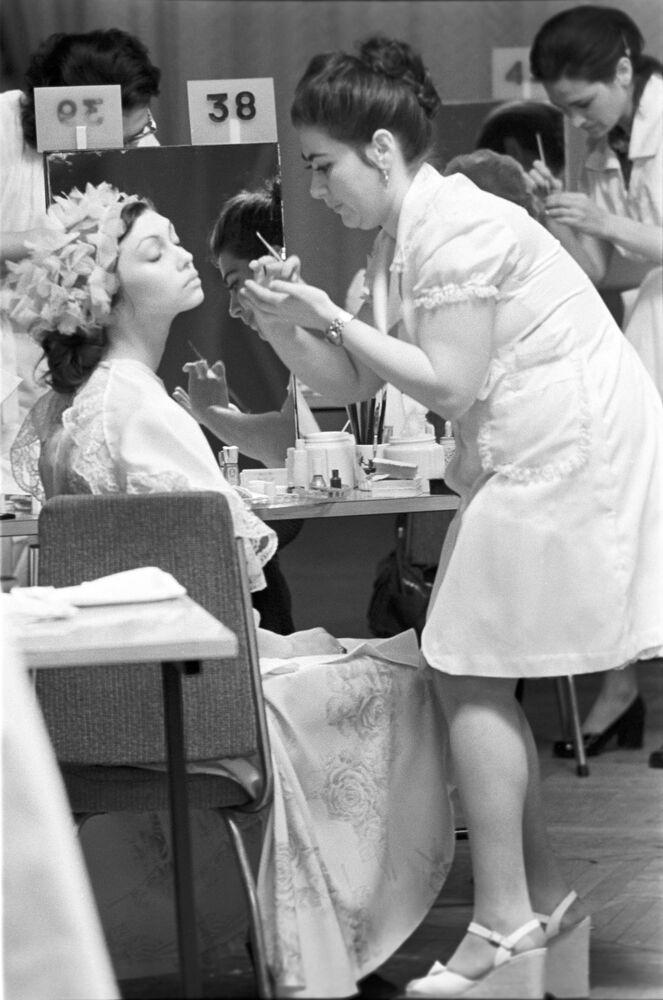 Konkurs sztuki fryzjerskiej w Moskwie, 1976 rok