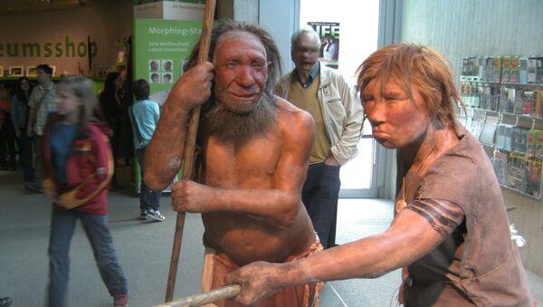 Neandertalczycy, rekonstrukcja - Sputnik Polska