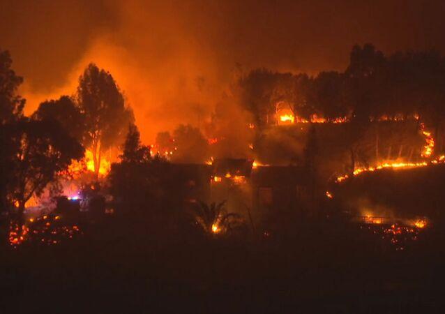 Kalifornia w ogniu