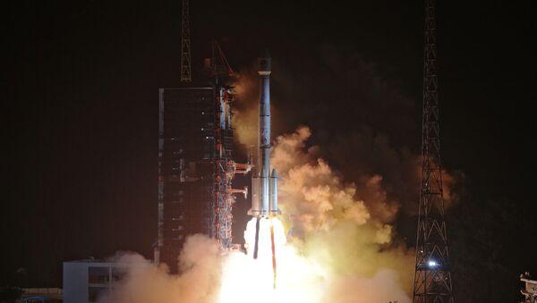 Start rakiety nośnej Xichang z satelitami nawigacyjnymi Beidou-3 - Sputnik Polska