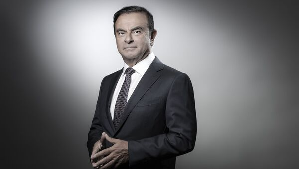 Dyrektor generalny Renault Carlos Ghosn - Sputnik Polska