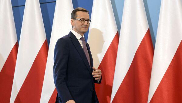 Polski premier Mateusz Morawiecki. Zdjęcie archiwalne - Sputnik Polska