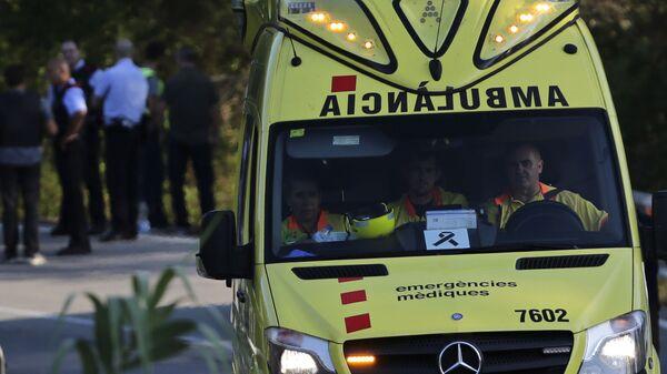 Pogotowie ratunkowe w Hiszpanii. Zdjęcie archiwalne - Sputnik Polska