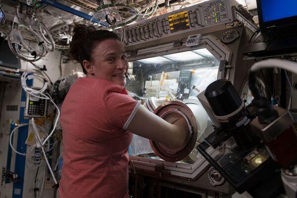 Kosmonautka Serena Auñón-Chancellor - Sputnik Polska