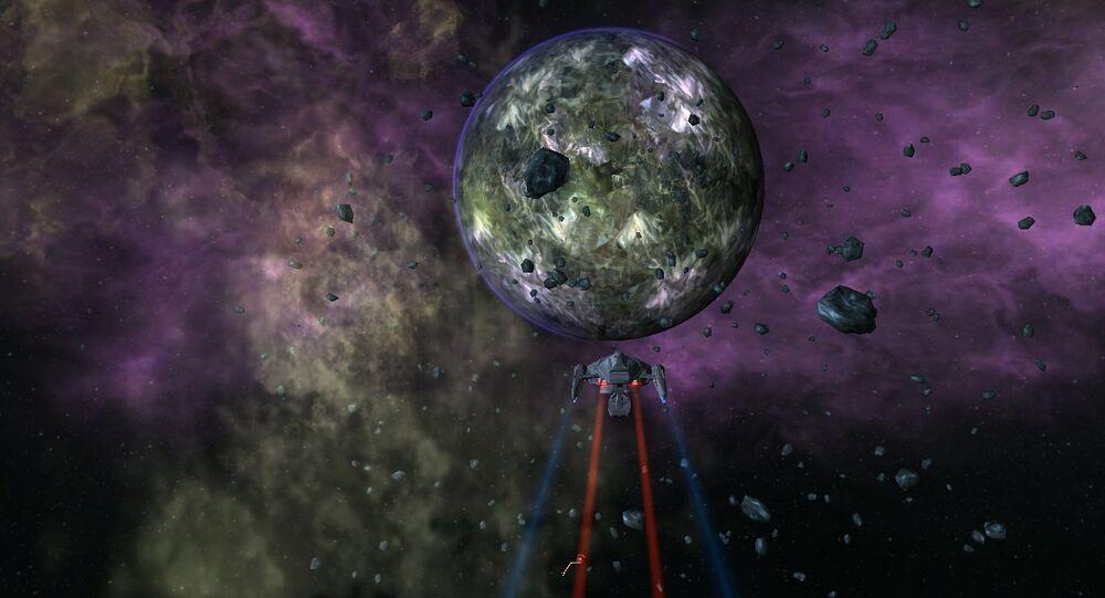 Artystyczna wizja obcej planety
