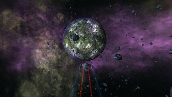 Artystyczna wizja obcej planety - Sputnik Polska