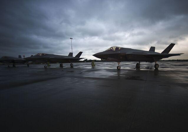 Amerykańskie myśliwce F-35