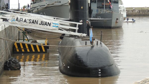 Okręt podwodny San Juan marynarki wojennej Argentyny - Sputnik Polska