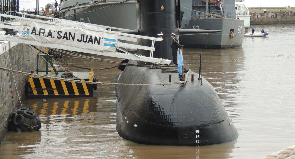Okręt podwodny San Juan marynarki wojennej Argentyny