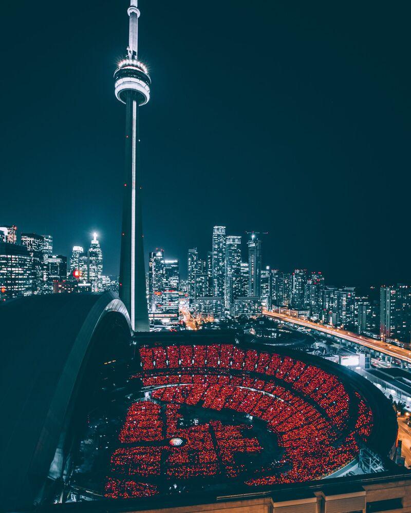 Wieża CN Tower w Kanadzie