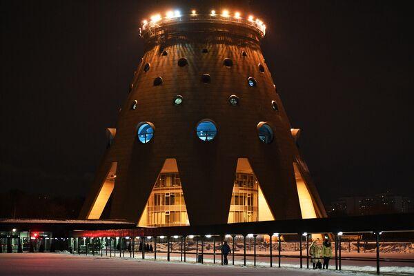 Wieża telewizyjna Ostankino - Sputnik Polska