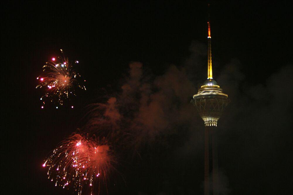 Wieża telewizyjna Milad w Teheranie