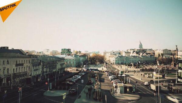 Jak zmieniła się Moskwa w ciągu ostatnich stu lat - Sputnik Polska